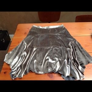 Amazing silk/rayon skirt.